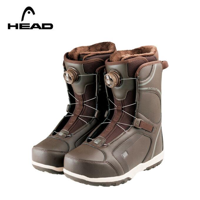 ヘッド HEAD スノーボードブーツ ダイヤルタイプ ソフトBOAブーツ SCOUT PRO BOA H