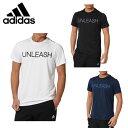 アディダス adidas スポーツウェア 半袖シャツ メンズレイヤリング ショートスリーブクルーネックTシャツBUT41
