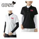 オプスト OPSTゴルフ セットポロシャツ レディースドット柄アンダーセットシャツOP220411F02