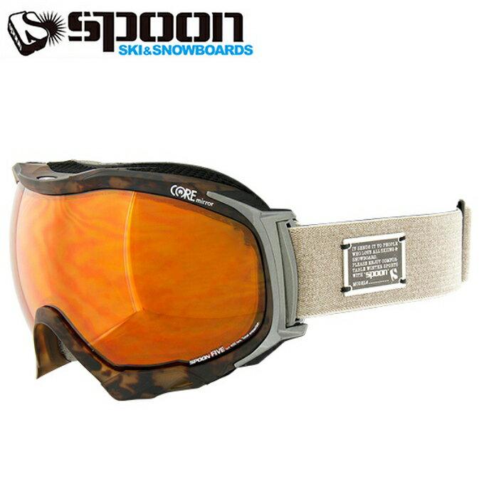 スプーン SPOONスキー ボード ゴーグル メンズFIVE ファイブSSP-680-5