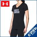 アンダーアーマー UNDER ARMOUR Tシャツ 半袖 レディース スレッドボーントレインワードマークVネック トレーニング/T…