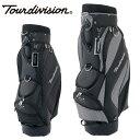 ツアーディビジョン Tour divisionゴルフ キャディバッグ メンズ 6TD230201-01