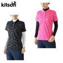 キットソン KITSONゴルフ レディースキティ総柄半袖セットシャツ0364101
