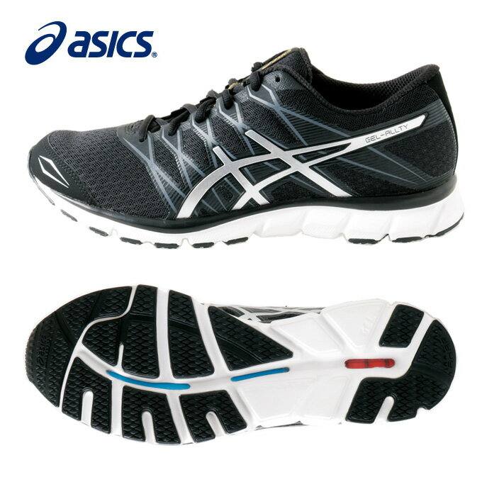 アシックス ランニングシューズ メンズ GEL ALLTY ゲルオルティー TJG16D 9093 マラソンシューズ ジョギング ランシュー クッション重視 asics