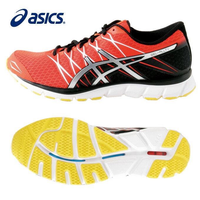 アシックス ランニングシューズ メンズ GEL ALLTY ゲルオルティー TJG16D 0993 マラソンシューズ ジョギング ランシュー クッション重視 asics