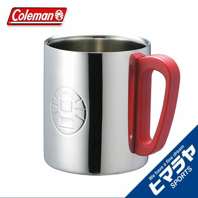 コールマン 食器 マグカップ ダブルステンレスマグ/300 レッド 170-9484 coleman