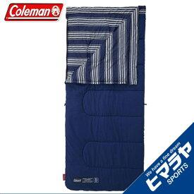 コールマン 封筒型シュラフ フリースフットEZキャリースリーピングバッグ C5 2000031098 ネイビーボーダーシリーズ Coleman