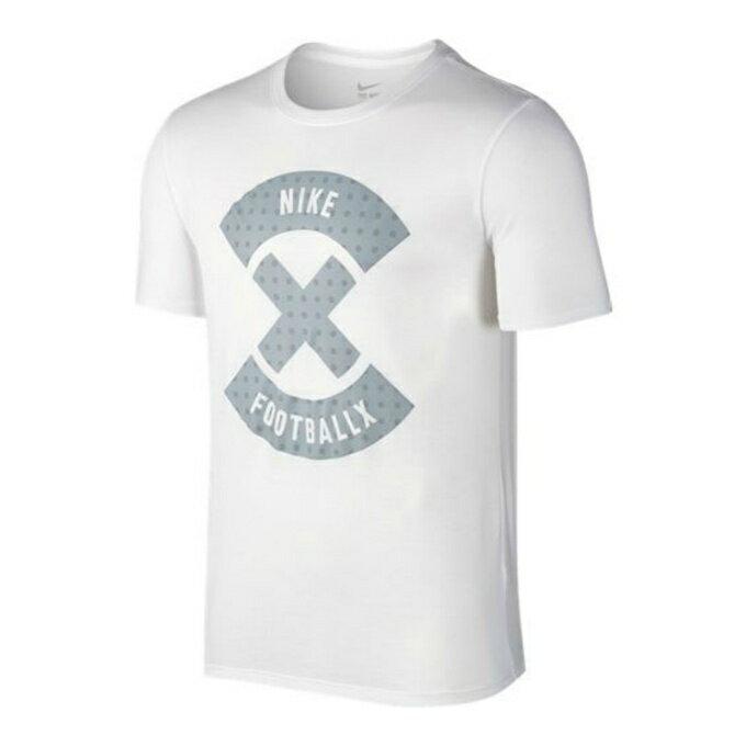 ナイキ サッカーウェア 半袖プラクティスシャツ ナイキフットボールX ロゴ 806482-100 NIKE