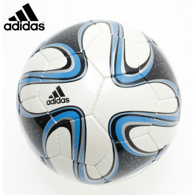 アディダス サッカーボール 4号球 小学校用 ジュニア ブラズーカ AF4820WB 検定球 adidas