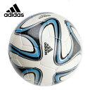 アディダス adidasサッカーボール4号球 小学校用 ジュニアブラズーカ 軽量 手縫いAF4820WBL<