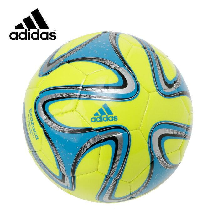 アディダス サッカーボール 4号球 小学校用 ジュニア ブラズーカ ミシン縫い AF4837YB adidas