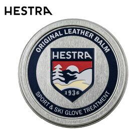 【ウインターアクセサリクーポンで10%OFF 12/4 20:00〜12/11 1:59】 ヘストラ HESTRA レザークリーム レザー バーム LEATHER BALM 60ml 91700