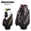 ブリヂストンゴルフ BRIDGESTONE GOLF ゴルフ メンズ キャディバッグ 軽量スポーティモデル CBG713