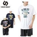 ビジョンクエスト VISION QUEST バスケットボール 半袖プリントTシャツ VQ570413G04
