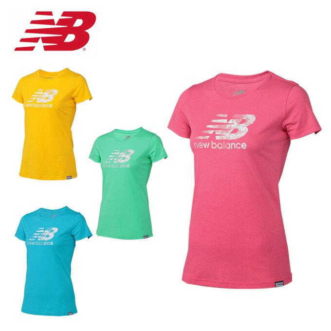 ニューバランス new balance Tシャツ 半袖 レディース ロゴ半袖Tシャツ WT71556