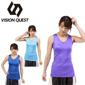 バスケットボール レディース ストレッチインナーシャツ VQ570412G01 ビジョンクエスト VISION QUEST