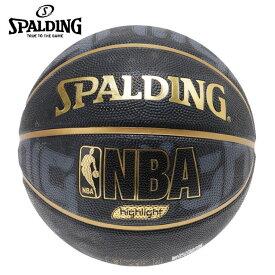 スポルディング バスケットボール 5号球 ゴールドハイライト 83-362J 屋外用 SPALDING