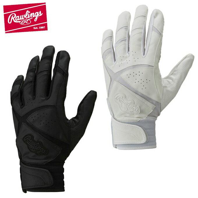 ローリングス Rawlings 野球 バッティンググローブ 両手用 メンズ バッティンググラブ 高校野球対応 EBG7S03
