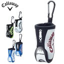 キャロウェイ Callaway ゴルフ ポーチ メンズ スポーツ ゴルフ バッグ モチーフ ボール ケース Sport Golf Bag Motif Ball Case 17 JM
