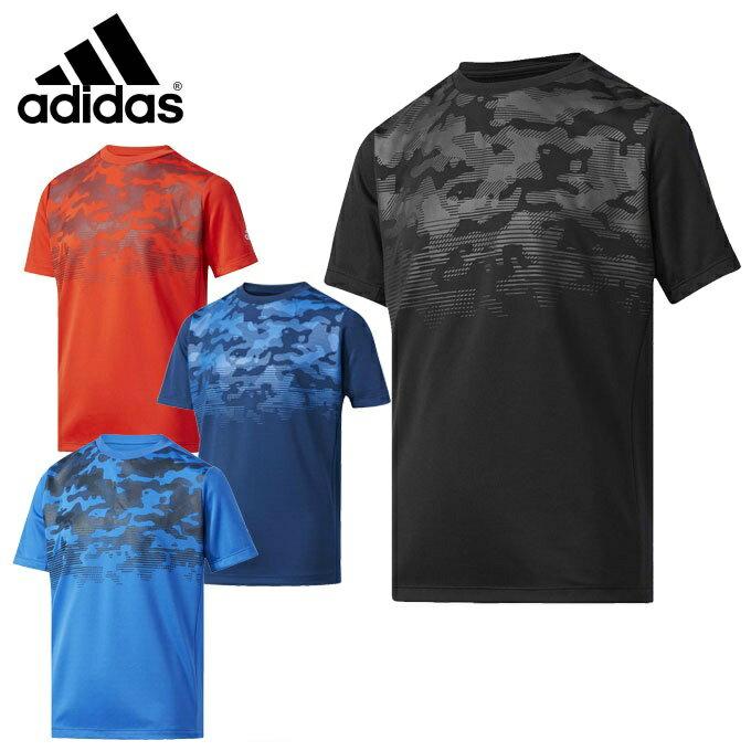 アディダス 機能ウェア 半袖 ジュニア Boys TRN グラフィック Tシャツ DJH68 adidas