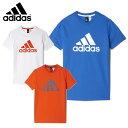 アディダス adidas 半袖Tシャツ ジュニアBoys ESS ビッグロゴ TシャツMLB26