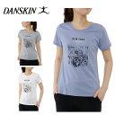 【ポイント5倍 5/29 9:59まで】ダンスキン DANSKIN Tシャツ 半袖 レディース DB77161