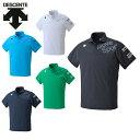 デサント DESCENTE スポーツウェア 半袖 メンズ MOVEサンスクリーン機能ポロシャツ DAT-4705