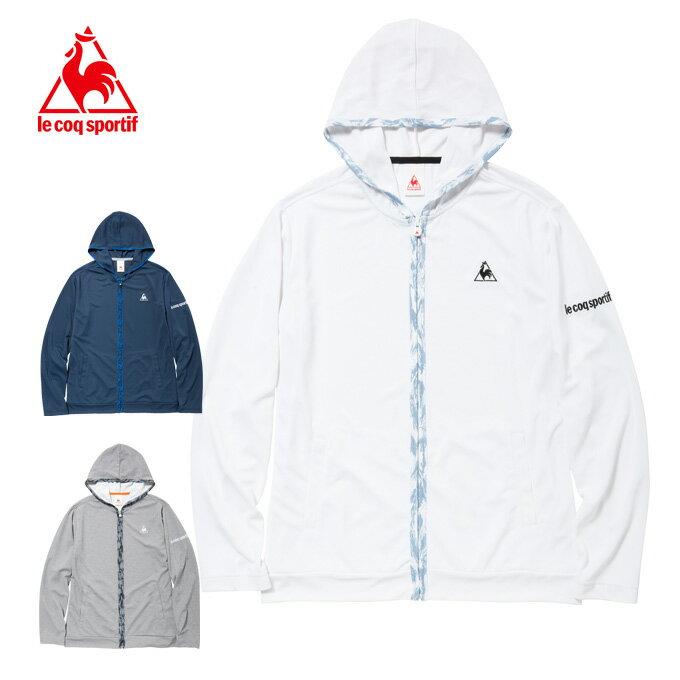 ルコック le coq sportif ジャケット メンズ サンスクリーンフードシャツJK QB-511171