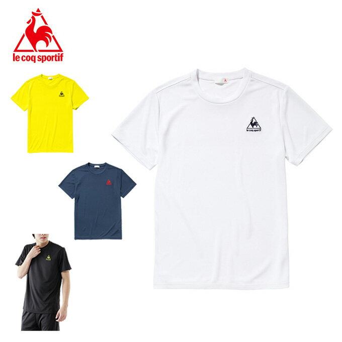 ルコック le coq sportif スポーツウェア 半袖 メンズ ワンポイント機能Tシャツ QB-012175 【KPN】 MENS