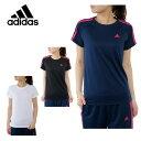 アディダス adidas Tシャツ 半袖 レディース ベーシック3STシャツ ELW76