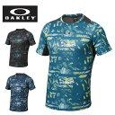 オークリー OAKLEY 機能ウェア Tシャツ メンズ Enhance Graphic SS Crew 7.0 433941JP