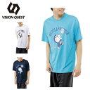ビジョンクエスト VISION QUEST Tシャツ 半袖 メンズ レディース ドラえもんTシャツ VQ530313G03 【CUTE-T】