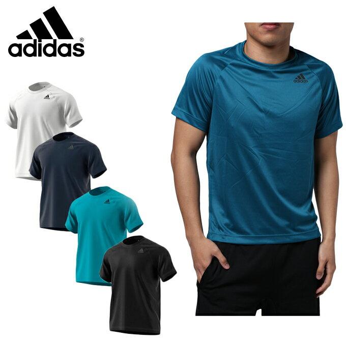 【店内全品ポイント5倍以上 9/20 0:00〜9/20 23:59】 アディダス Tシャツ 半袖 メンズ D2M トレーニングワンポイントTシャツ BUM28 【KPN】 MENS adidas