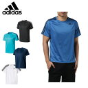 アディダス adidas スポーツウェア 半袖 メンズ D2M トレーニング3ストライプスTシャツBVA80 【KPN】 MENS