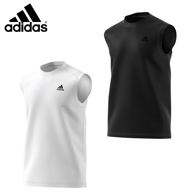 【店内全品ポイント5倍以上 9/20 0:00〜9/20 23:59】 アディダス 機能ウェア メンズ D2M トレーニングノースリーブワンポイントTシャツ BUM13 【KPN】 MENS adidas
