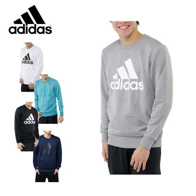 アディダス adidas パーカー メンズ ESSENTIALS ライトクルーネックスウェット 裏毛 DJP50