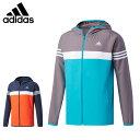 アディダス トレーニングウェア メンズ ESS フードクロスジャケット DJP92 adidas
