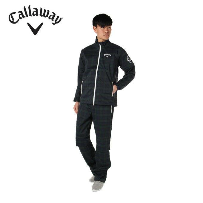 キャロウェイ Callaway ゴルフ メンズ ブラックウォッチレインウエア 241-7988500