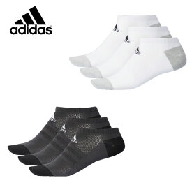 アディダス 3足組ソックス メッシュ 3P アンクルソックス DMK54 adidas