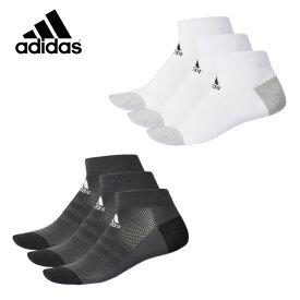 アディダス 3足組ソックス メッシュ 3P ショートソックス DMK53 adidas