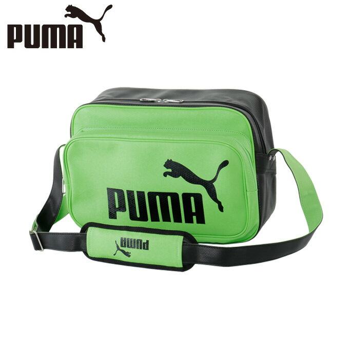 プーマ PUMA エナメルバッグ マットショルダーM 074667-03