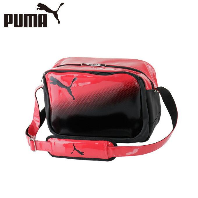 プーマ PUMA エナメルバッグ シャイニーショルダーM 074663-02