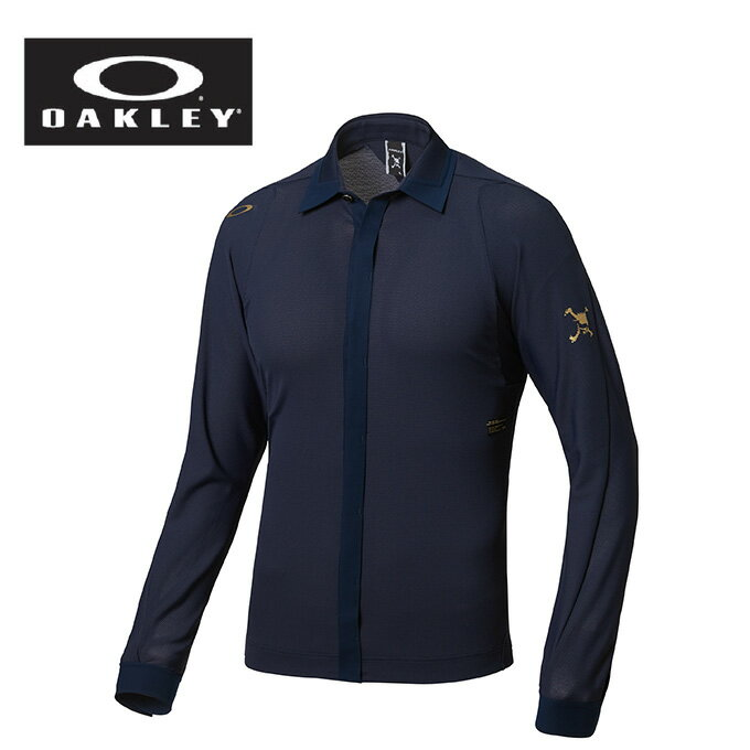 オークリー OAKLEY ゴルフ 長袖シャツ メンズ Skull Crown Sync L/S Shirts 433973JP