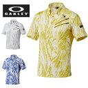 オークリー OAKLEY ゴルフ 半袖ポロシャツ メンズ Skull Stream Shirts 433969JP