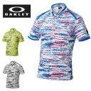 オークリー OAKLEY ゴルフ 半袖ポロシャツ メンズ Bark Blind Terra Shirts 433954JP