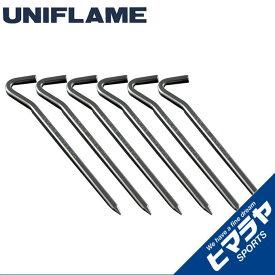 ユニフレーム ペグ 6本セット 20cm ジュラパワーペグ200 681626 UNIFLAME