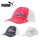 プーマ PUMA ゴルフアクセサリー キャップ 帽子 ゴルフ レディース ウィメンズ グラフィック トラッカー 866432