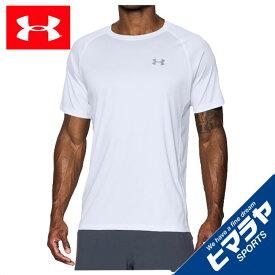 アンダーアーマー Tシャツ メンズ 半袖 ヒートギアランTシャツ ランニング Tシャツ MEN 1289681-100 UNDERARMOUR