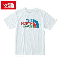 6f74ef7dc2eaf5 ノースフェイス アウトドア Tシャツ 半袖 メンズ ショートスリーブ カラフル ロゴティー NT31621 THE NORTH FACE
