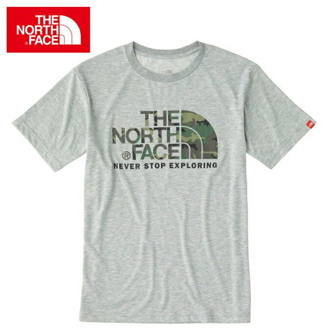 ノースフェイス アウトドア Tシャツ 半袖 メンズ ショートスリーブ カモフラージュ ロゴティー NT31622 THE NORTH FACE